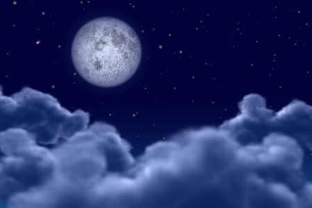 myst: moonnight Stock Photo