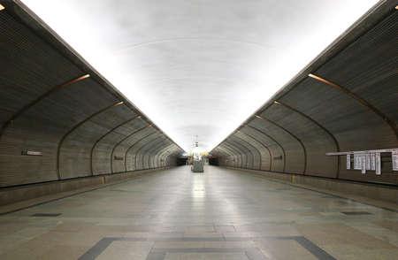 transportaion: subway station Stock Photo
