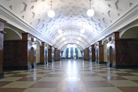 transportaion: subway station 4