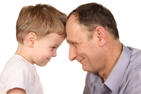 divorcio: frente de abuelo del nieto
