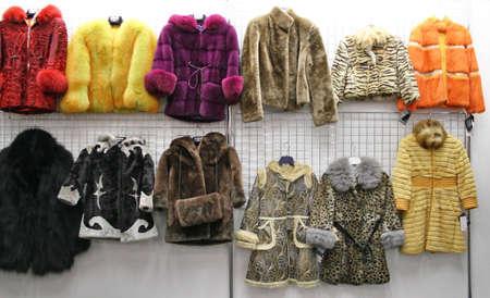 child fur in shop photo
