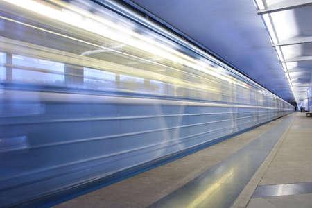 station m�tro: station de m�tro, train