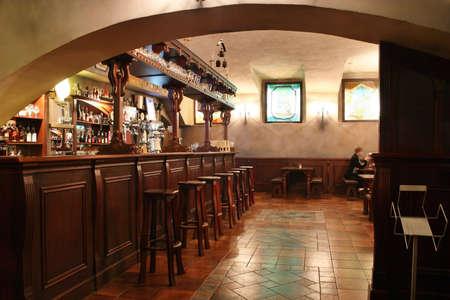 escabeau: bar int�rieur 2 Banque d'images