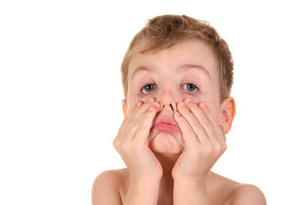 child making face Stock Photo - 910835