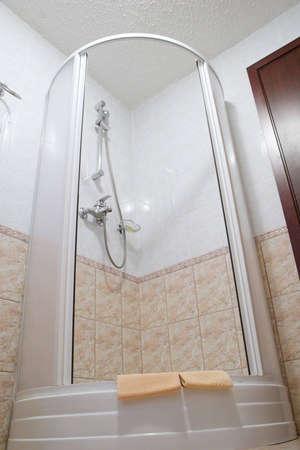 hotel shower photo