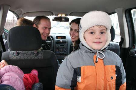 family in car Stock Photo - 910862