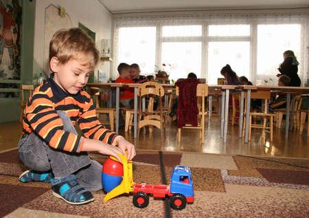 child in kindergarten 2 photo
