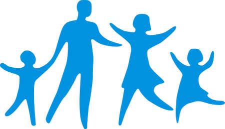 familia cristiana: familia feliz