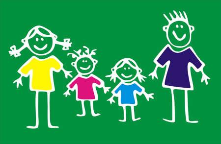 wholesome: family Stock Photo