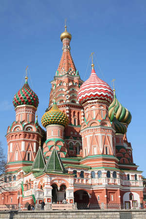 kreml: st. basil cathedral moscow