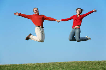 full strenght: jumping couple
