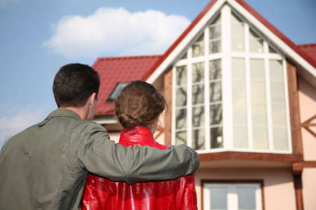 couple and house Stock Photo - 2171517