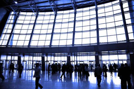 big window: groot raam luchthaven