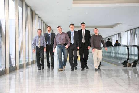 businessteam: walking businessteam