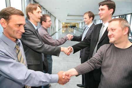 shaking hands business: shaking hands business partners
