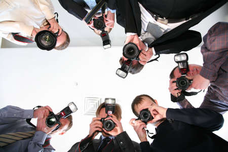 private viewing: paparazzi under victim