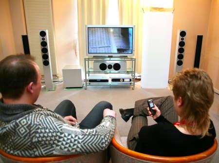 equipo de sonido: con par de cine en casa