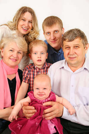 intergenerational family Stock Photo - 2196264