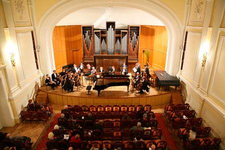 music hall: symphony