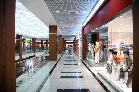plaza comercial: en la tienda de moda de la ropa