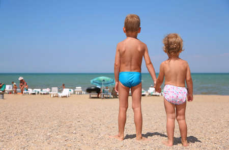 Children cost a back. photo