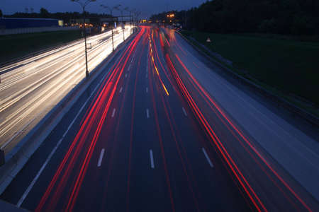 night traffic Stock Photo - 2281367
