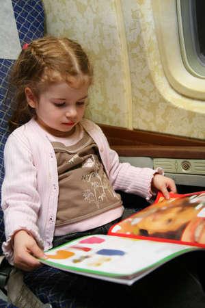adult magazines: child airplane book
