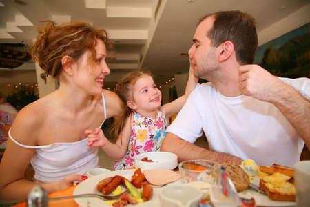 dining family Stock Photo - 2287202