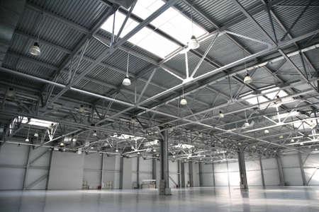 hangar warehouse photo