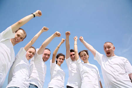 people hands fist Stock Photo - 2297170