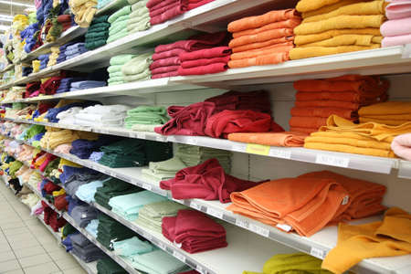 towels in shop Stock Photo - 2297512