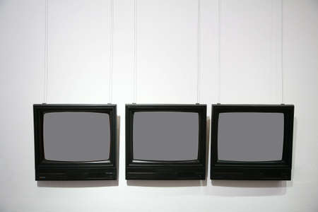 gallerie: frames in the form of the television  Stock Photo