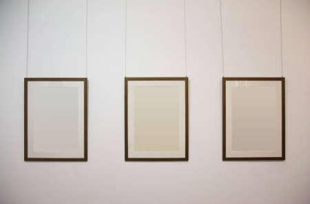 gallerie: photo frames Stock Photo