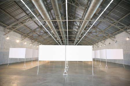 frames in hangar photo