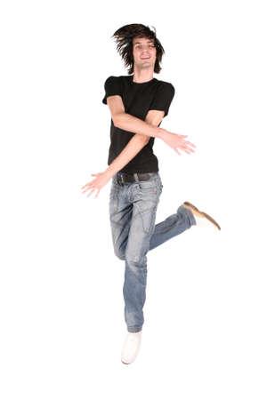 jump dance boy