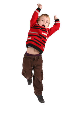 jumping boy Stock Photo - 2317915