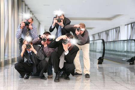 paparazzi: paparazzi with flashes