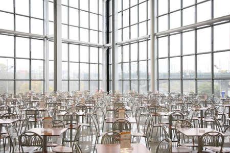 modern cafe photo