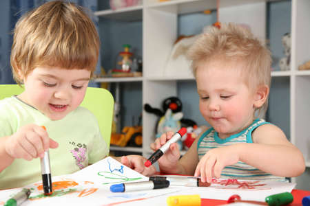enfants peinture: peinture enfants