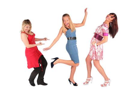 dancing girls Stock Photo - 3015570