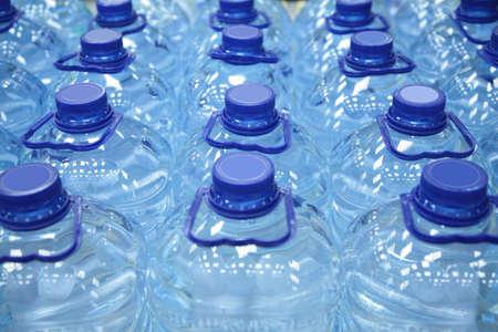 plastic bottles of water Stock Photo - 3012318