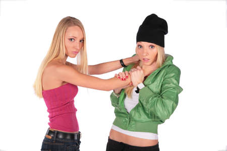 top hate: hip-hop and pretty: hatred Stock Photo