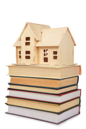 bookish: Model of house on books