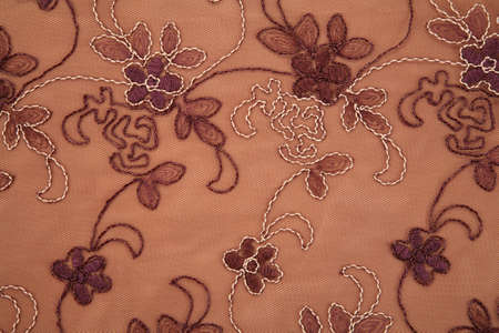 layers levels: flower textile brown texture