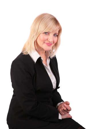 Middleaged woman portrait photo