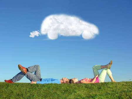 sogno: matura e nube auto da sogno