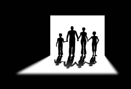 obscurity: shadow door family