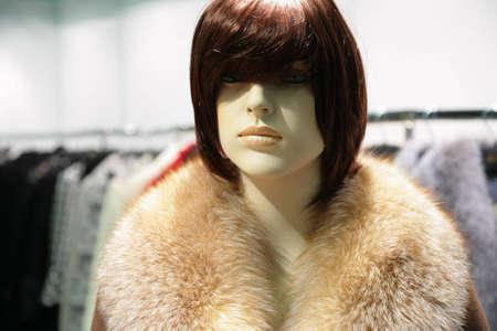 mannequin in fur Stock Photo - 5102604