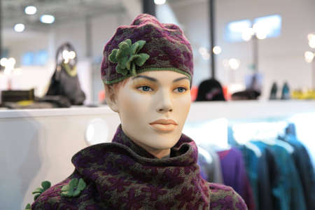 woman mannequin in hat Stock Photo - 5103738