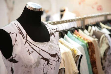garb: mannequin in shop